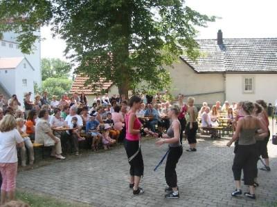 Bild vom Kirchfest 2005